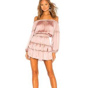 MISA Los Angeles Romi Dress In Mauve XS